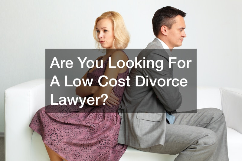 Are You Looking for a Low Cost Divorce Lawyer?