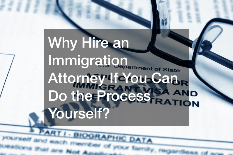 Why Hire an Immigration Attorney If You Can Do the Process Yourself?